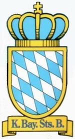 Royal Bavarian State Railways logo