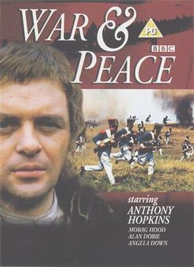 War and Peace TV mini series DVD cover