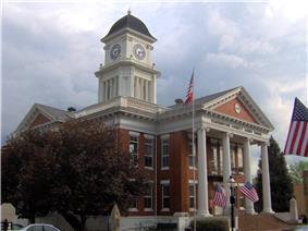 Washington County Courthouse in Jonesborough