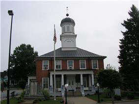 Washington County courthouse in Springfield