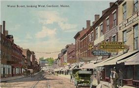 Water Street in 1914