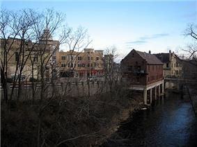 Wauwatosa along the banksof the Menomonee River