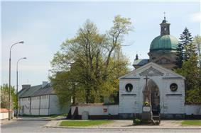 Bernardine church and monastery in Czerniaków