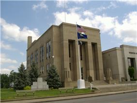 Webster County Courthouse in Dixon