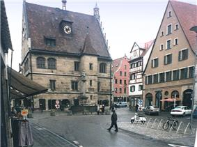 The old town hall of Weißenburg is one of the icons of the city
