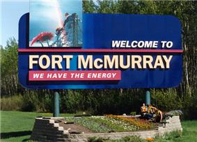 Official logo of Fort McMurray