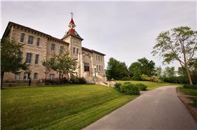 Alt=View of the Wellington County Museum