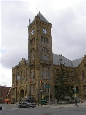 The Wells County Courthouse is listed on the National Register of Historic Places