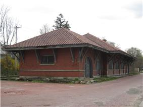 Wellsville Erie Depot