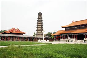 A pagoda in Wenshang