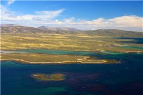 West Falkland from Keppel Island