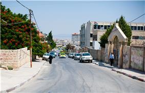 Street in Jenin, 2011