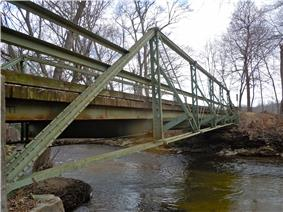 Bridge in West Fallowfield Township
