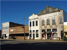 New Evergreen Commercial Historic District