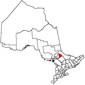 Location of West NipissingNipissing-Ouest