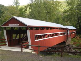 Twin Bridges-West Paden Covered Bridge No. 121