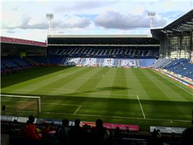 Inside the stadium of West Bromwich Albion, The Hawthorns