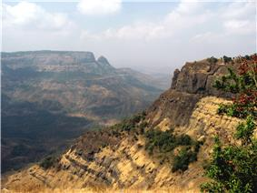 Western Ghats, near Matheran, India