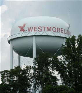 Watertower in Westmoreland