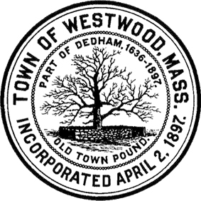 Official seal of Westwood, Massachusetts