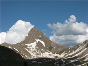 Wetterhorn Peak.