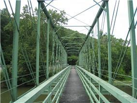 Capon Lake Whipple Truss Bridge
