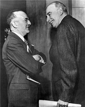 Photo of Keynes