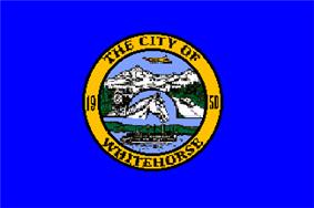 Flag of City of Whitehorse
