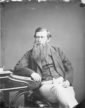 Portrait of William Henry Pope