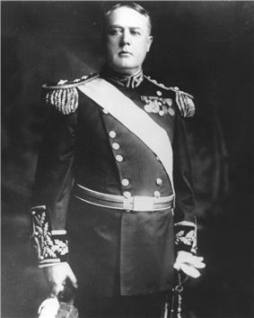 black & white photograph of William P. Biddle