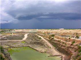 Williamson diamond mine in Mwadui