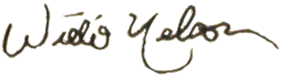 A signature penned in black ink