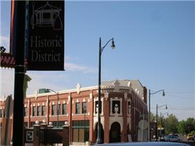 Wilson Theatre in downtown Rupert in 2006
