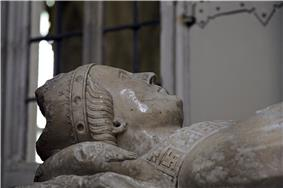 Effigy of William Edington in Winchester Cathedral