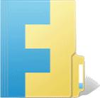 The original Windows Live FolderShare logo