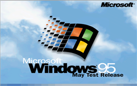 The startup screen from build 468, 480, 490 and 501 (490 and 501 are June test release, but with the same startup screen indicating