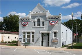 Township building in Winnebago