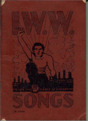 Booklet cover with large title,