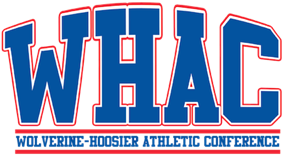 Wolverine–Hoosier Athletic Conference logo