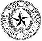 Seal of Wood County, Texas