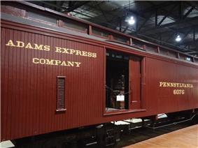 Wooden Express Baggage No. 6076