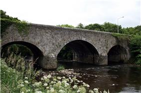 The R747 over the Aughrim River, the former