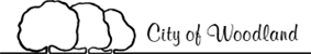 Official logo of City of Woodland