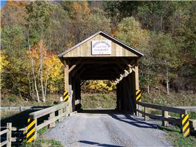 Nettie Woods Covered Bridge