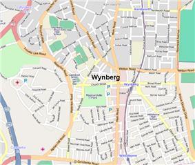 Street map of Wynberg