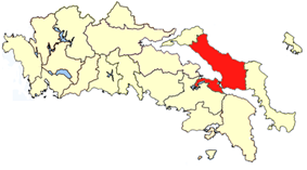 Location of Chalcis Province