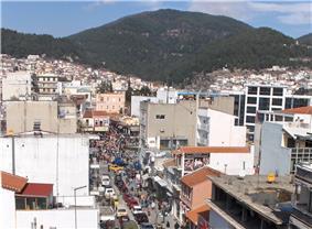 View of Xanthi