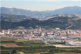 View of Xàtiva