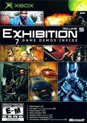 Cover of Xbox Exhibition Volume 5