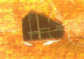 Yttrium barium copper oxide crystal